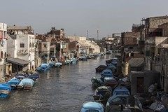 Vienezia of Egypt (Mohamedosamphotostream) Tags: sea water boat fishing fishermen egypt egyptian polution mohamedosam egyptbymohamedosam