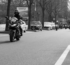 Toutes en moto (Claude Schildknecht) Tags: woman france women europe lyon femme places rights moto suzuki femmes droits