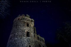 Huntly Castle Before Moon Rise