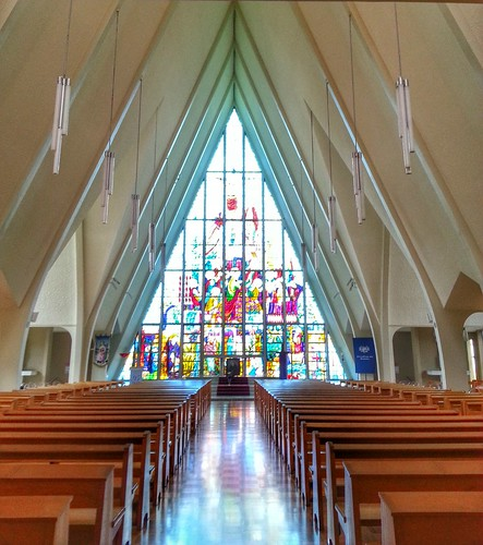 Inside the chapel at Stuartholme Girls School, Bardon, Brisbane, Qld, Australia