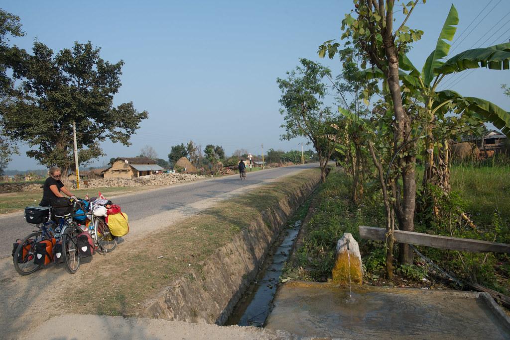Roadside water source