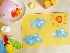 Carimbo com bexiga (PAP) (Ateliê Bonifrati) Tags: cute girl diy drawing craft stamp tutorial pap pintando carimbo bexiga passoapasso bonifrati