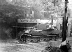 "King Tiger during the Battle of Berlin • <a style=""font-size:0.8em;"" href=""http://www.flickr.com/photos/81723459@N04/16782937105/"" target=""_blank"">View on Flickr</a>"