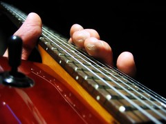 (PahaKoz) Tags: break arm guitar fingers strings pause relaxation