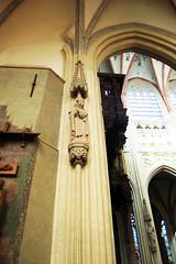 Saint Statue in Cathedral (fotophotow) Tags: netherlands nederland shertogenbosch noordbrabant northbrabant sintjanscathedral