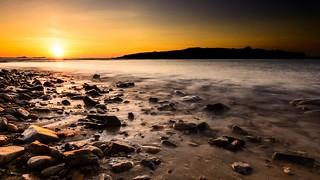 Sunset sur Leac'h Venn