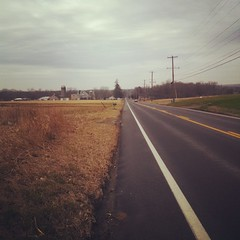 The Road Ahead. Day 6. 273 outside of Rising Sun, MD. Slow start today, resting the ankle.