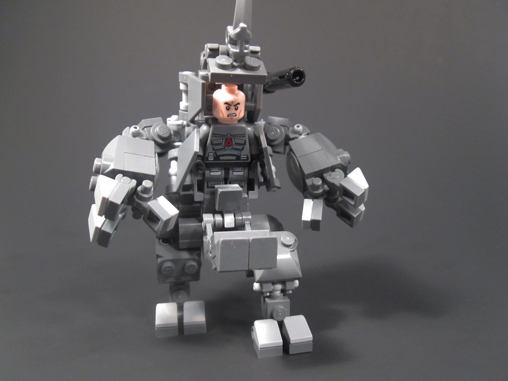 Lego Marvel Moc: The World's Newest Photos Of Therhino