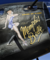 Memphis Belle-Nose Art_vert pano-color (sumoetx) Tags: art classic closeup vintage airplane nose utah flying nikon memphis aircraft wwii b17 ww2 belle bomber fortress b17bomber b17flyingfortress utahphotographer bomberflying nikonhdr sumoetx nikond7000 howardjackman b17hdr bomberb17