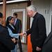 Cardinal Nichols visits Erbil in Iraq