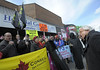 CUPE rally at Bal Gosal's Constituency office