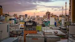 Ho Chi Minh Cityscape (departing(YYZ)) Tags: city sunset urban buildings landscape outside architechture asia southeastasia cityscape panasonic vietnam urbanjungle saigon hochiminh dense
