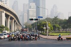 Motorroller in Bangkok