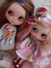 Pouty girls.......