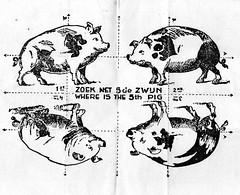 Folding Puzzle (streamer020nl) Tags: pig war 1940 spot krieg puzzle ww2 1945 5th 5e folding varken occupation oorlog zwijn puzzel vijfde bezetting fifthe vouwpuzzle