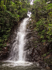 Wasserfall auf Langkawi, Malaysia
