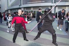 SWC 2O15 - 1677 (Photography by J Krolak) Tags: california startrek starwars costume cosplay anaheim darkside umbrellacorp