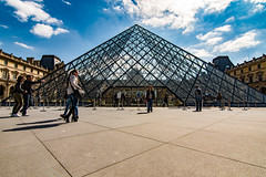DSC_0654 (dispr) Tags: paris architecture nikon pyramid wideangle tokina thelouvre tokina1116 nikond7200