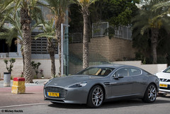 Aston Martin Rapide S (Mickey Dachis) Tags: cars car sport israel martin tel aviv s automotive mickey vehicle british luxury aston spotting rapide dachis mdachis