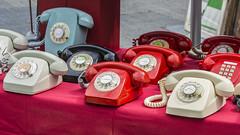 80's phones (CeliaQuintillan) Tags: color vintage phone telephone telefono