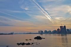 Roosevelt Island, 12.12.15 (gigi_nyc) Tags: nyc newyorkcity sunset eastriver rooseveltisland