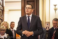 Daniel Andrews (Adam Dimech) Tags: employment politics australia parliament melbourne victoria delegation vthc danielandrews victoriantradeshallcouncil workersparliamentarydelegationday