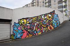 Bebar    Lalasadko (HBA_JIJO) Tags: urban streetart abstract france art animal wall cat painting graffiti chat spray peinture mur gatto abstrait murale vitry vitrysurseine bebar paris94 bbar hbajijo bebarbarie lalasadko