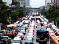 Phetchaburi Road (Steve Cut) Tags: thailand bangkok nana traffice