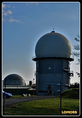 Radarturm Erbeskopf (Deutschland) (LOMO56) Tags: towers tours trme torri torres erbeskopf funktrme towerstorritorrestourstrme funkanlagen radartrme radarkuppeln radarturmerbeskopf sendemasterbeskopf