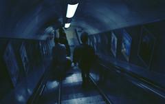 The Abys. (Leon.Antonio.James) Tags: street blue people color london art film analog 35mm canon 50mm kodak ae1 grain ishootfilm 35mmfilm analogue canonae1 tones 50mmf18 ilovefilm filmisnotdead filmisalive longlivefilm kodakektar100 beliveinfilm buyfilmnotmegapixels leonantoniojames shootfilmstaypoor dustgrainandscratch
