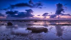 The Blue hour @ Long Reef (RoosterMan64) Tags: longexposure seascape reflection clouds sunrise reflections australia nsw longreef northernbeaches rockshelf leefilters