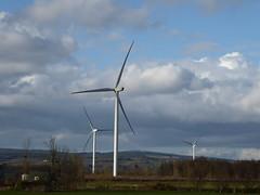 Companionship of windmills (seikinsou) Tags: ireland sky cloud windmill spring wind turbine windturbine