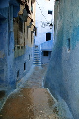 IMG_3679 (rachel_salay) Tags: city blue morocco chefchaouen