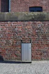 Papelera Electra 85 (Glasdon Europe Sarl ES) Tags: exterior electra papelera acero exteriores metlica contemporneas glasdon glasdones electra85 85litros