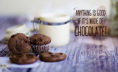 Chocolate (Zaina.Faraola) Tags: chocolate love kuwait photography canon 60d brown theme good sweet addiction
