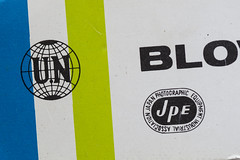 JPE (Arne Kuilman) Tags: camera detail logo design box un 80s 70s brand accessory madeinjapan jpe doos solleveld blowerbrush japanphotographicequipmentindustrialassociation
