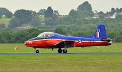Jet Provost (jhonnyclickplane) Tags: nikon aircraft aviation jet aeroplane airshow trainer bac cosford cosfordairshow d3300 provosrt