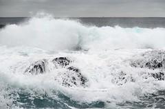 waves - a winter's day (tom.edwards1974) Tags: landscape seascape waves rock sea ocean coast shore seashore mornington flinders peninsula melbourne victoria australia grey color colour winter