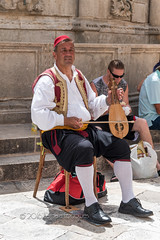 #46 Tradition / Traditional (belincs) Tags: musician holiday june outdoor croatia dubrovnik 2016 116picturesin2016