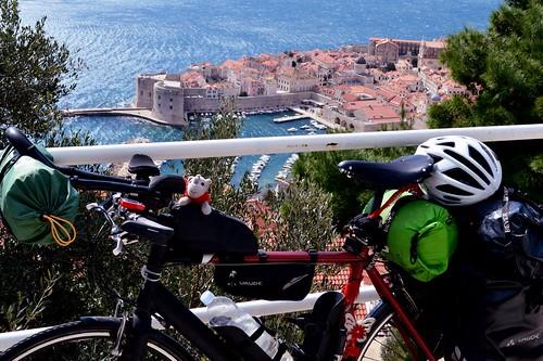 Bike at old city Dubrovnik