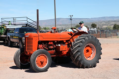 Fade to... (twm1340) Tags: show arizona tractor march az international cottonwood harvester farmall ih mccormick 2015 flywheelers