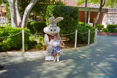 1997_09~029 (If you didn't film it, it didn't happen!) Tags: california outdoor photograph amusementpark 1997 bugsbunny sixflagsmagicmountain losangelescounty tabithamiller