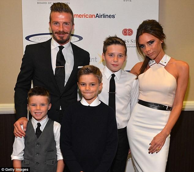 Victoria Beckham: formidable businesswoman, always under the eye of David!