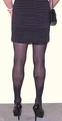 Just the legs and heels 6 (donnacd) Tags: red black ass stockings leather back tv pumps highheels cd skirt crossdressing dressing tgirl sissy tranny heels tight crossdresser crossdress ts domina feminization travesti feminized xdresser transgenre tgurl