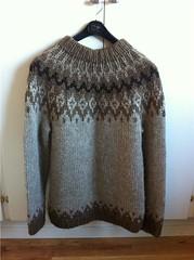 Icelandic wool sweater (Mytwist) Tags: winter fashion fetish neck sweater warm ebay craft style jumper knitted lopi crewneck icelandicsweater peysa lopapeysa slensk lettlopi woolfetish istex icelnder ckr2011