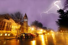 Lightning Over Orton Hall (Elliotphotos) Tags: ohio storm hall university state osu thunderstorm lightning elliot storms theohiostateuniversity thunder orton ohiostate thunderstorms ohiostateuniversity ortonhall gilfix elliotphotos elliotgilfix
