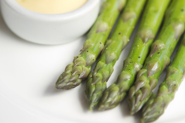 Asparagus with hollandaise © Royal Opera House Restaurants 2013