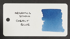 Organics Studio Cobalt Blue - Word Card