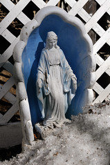 1672 the virgin known as Mary (Violentz) Tags: statue catholic god madonna mary religion jesus mother stjoseph galilee icon holy virgin jew bible christianity bethlehem virginmary blessed babyjesus nazareth motherofgod ourladyofguadalupe ourlady blessedmother holymother hailmary ourladyoflourdes israelite ourladyofgrace ourladyoffatima lawnstatue thevirginknownasmary thetheotokos handmaidenofthelord heymarywatchagonnanamethatprettylittlebaby miriammotherofisa