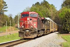 NS 288 at Collegedale (Kerry Douglas Photography) Tags: ns canadianpacific cp ge norfolksouthern ac4400cw